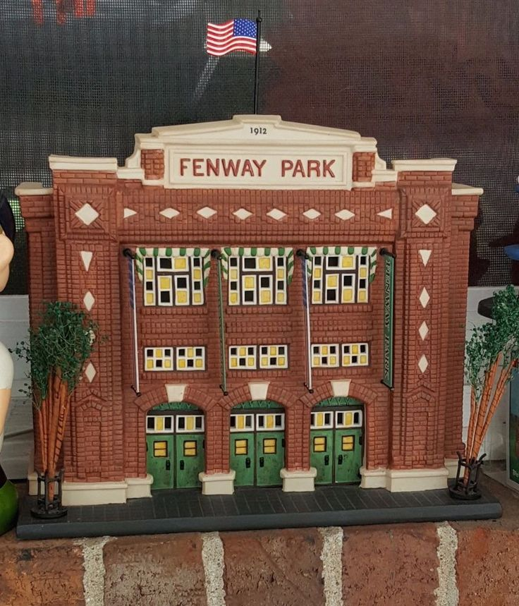 Department 56 Fenway Park Boston Red Sox Christmas in the City #mlb #Baseball #Department56 #redsox