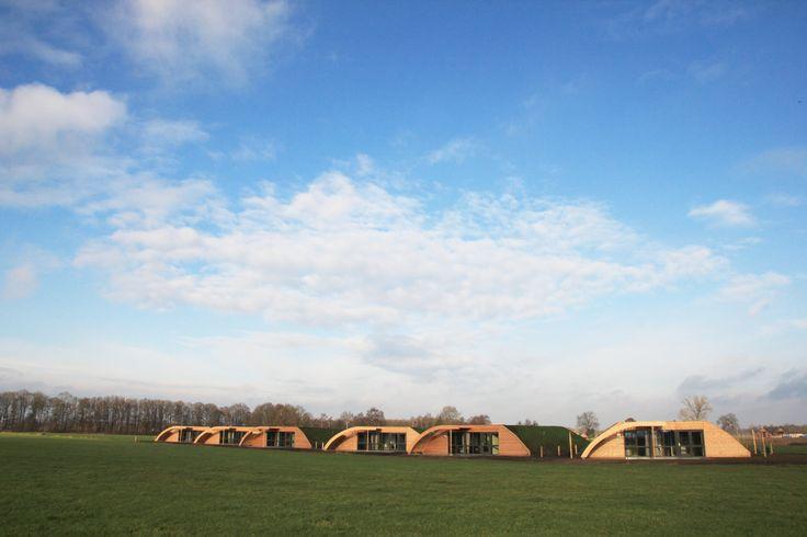 Bij 'Koe in de Kost' slaap je tussen de koeien. In het weiland. En in een wel heel bijzondere vakantieaccommodatie; een Grondulow! #origineelovernachten #officieelorigineel #reizen #origineel #overnachten #slapen #vakantie #opreis #travel #uniek #bijzonder #slapen #hotel #bedandbreakfast #hostel #camping #koe #koeindewei