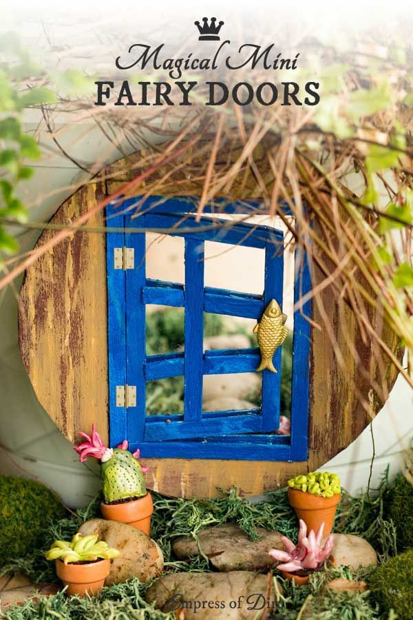 1380 best images about garden art junk decor on for The little fairy door
