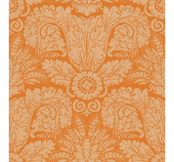 WH154 05 Wheat Damask by Waterhouse Wallhangings