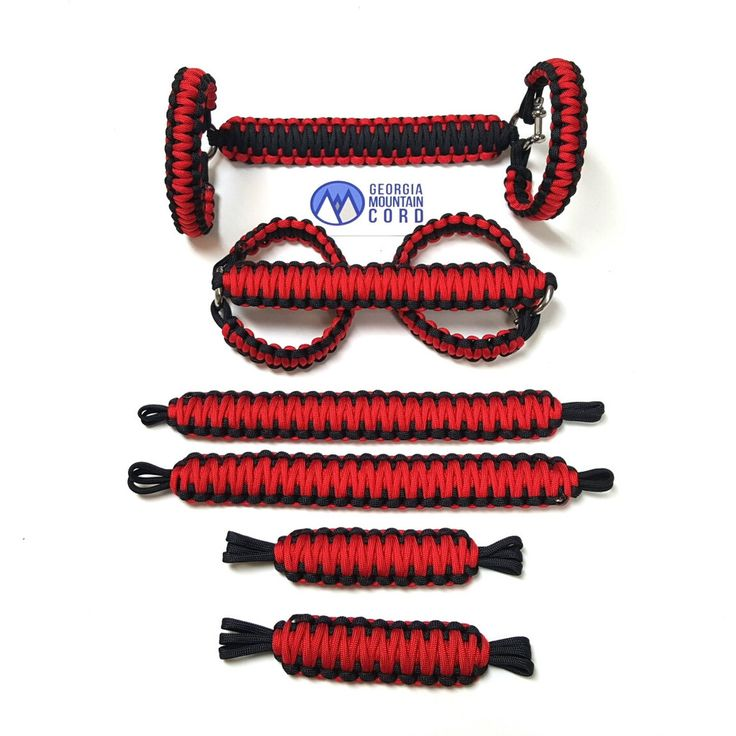 Jeep Wrangler TJ/LJ Deluxe Paracord Set in Imperial Red