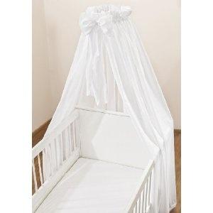 Christiane Wegner 0315 02 Himmel für Kinderbett weiss, 300 x 175 cm: Amazon.de: Baby