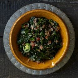 Gomen (Ethiopian-Style Collard Greens) - EatingWell.com