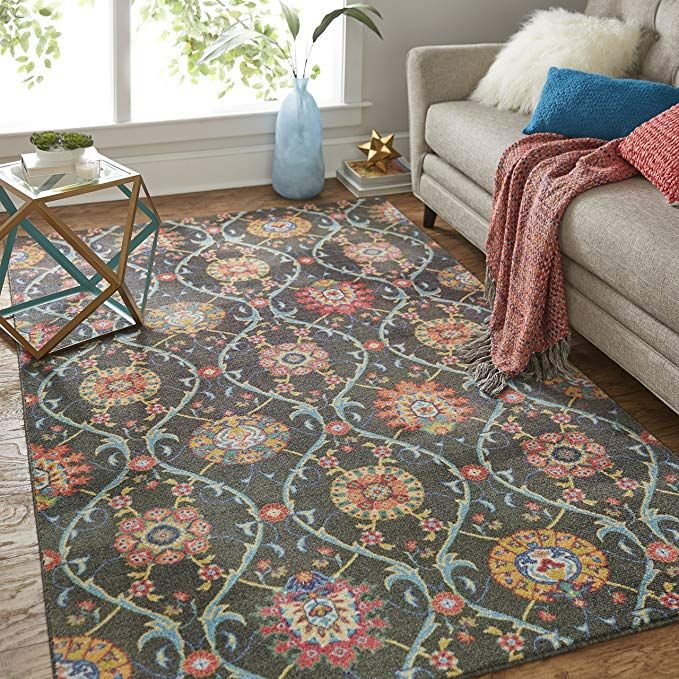 Amazon Com Mohawk Home Prismatic Quatrefoil Fret Lattice Cranberry Precision Printed Area Rug 8 X10 Red Kitchen Dining Area Rugs Rugs Grey Rugs