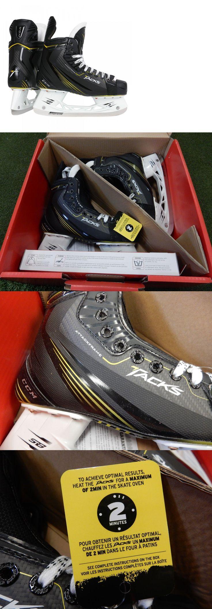 Ice Hockey-Adult 20858: New In Box! Ccm Tacks Senior Hockey Skates - Size 7 D *Retail: $800* BUY IT NOW ONLY: $499.95