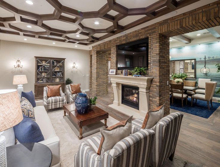 Invite friends over for a small get together in this beautiful model home  from Los. 144 best Gathering Spaces images on Pinterest   Luxury homes