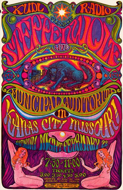 Steppenwolf in Kansas City, Feb 1969