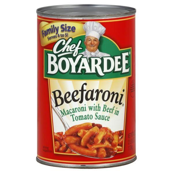 Chef Boyardee Beefaroni, Family Size