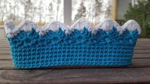 Free King Crown Crochet Pattern : Konge Krone / Kings Crown - free crochet pattern in ...