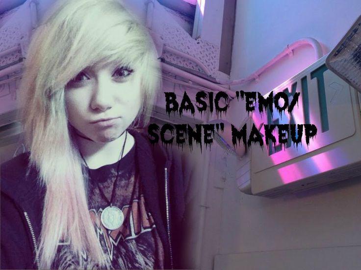 "Nice Basic ""emo/scene"" Makeup Tutorial || EMILYISNOTSURE"