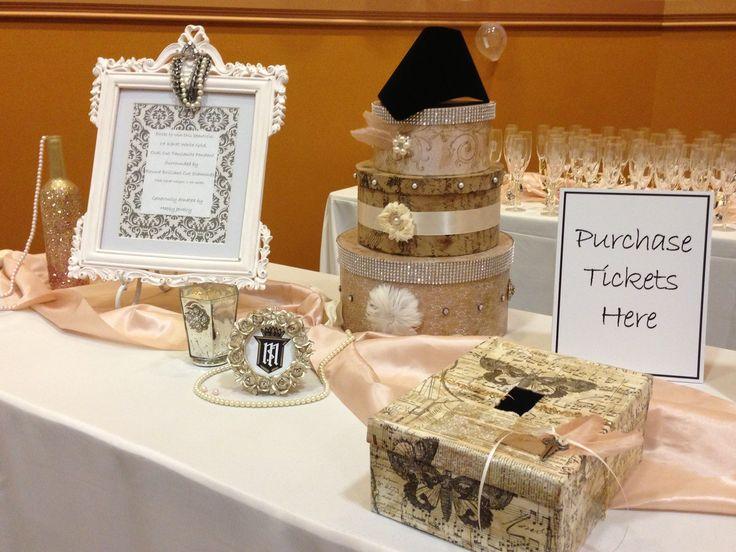 raffle table display