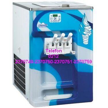 3 Kollu Otomatik Soft Dondurma Makinası Satış-Tamir-Servis ve Yedek Parçaları 0212 2370749