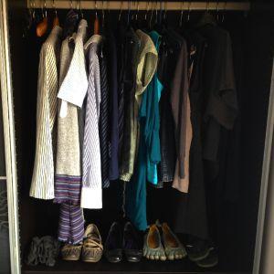 Mi armario con 33 prendas para la segunda temporada del 2014