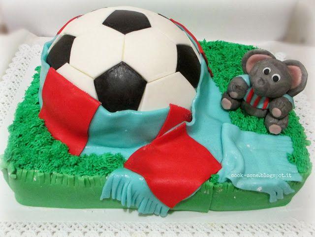 Soccer ball Cake - Torta decorata con pallone da calcio