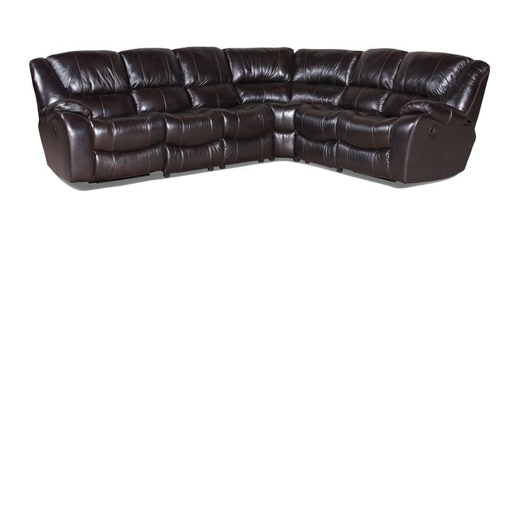 The Dump Furniture Tannery Closeout Leather Sectional