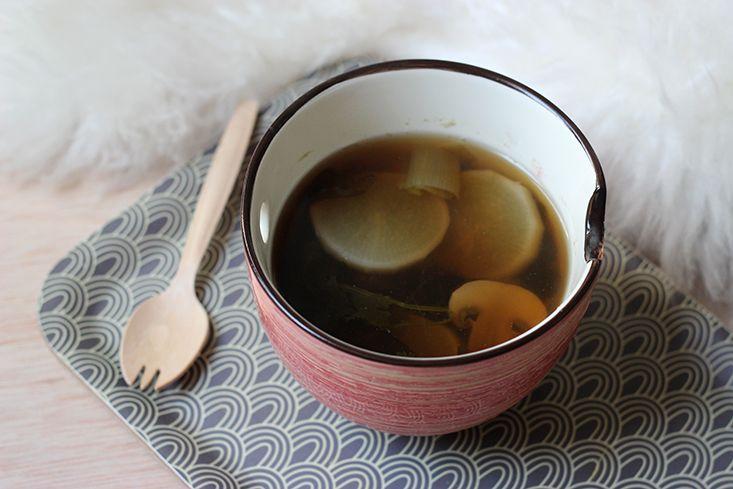 Bouillon de Légumes – Inspiration Japonaise « Mango and Salt