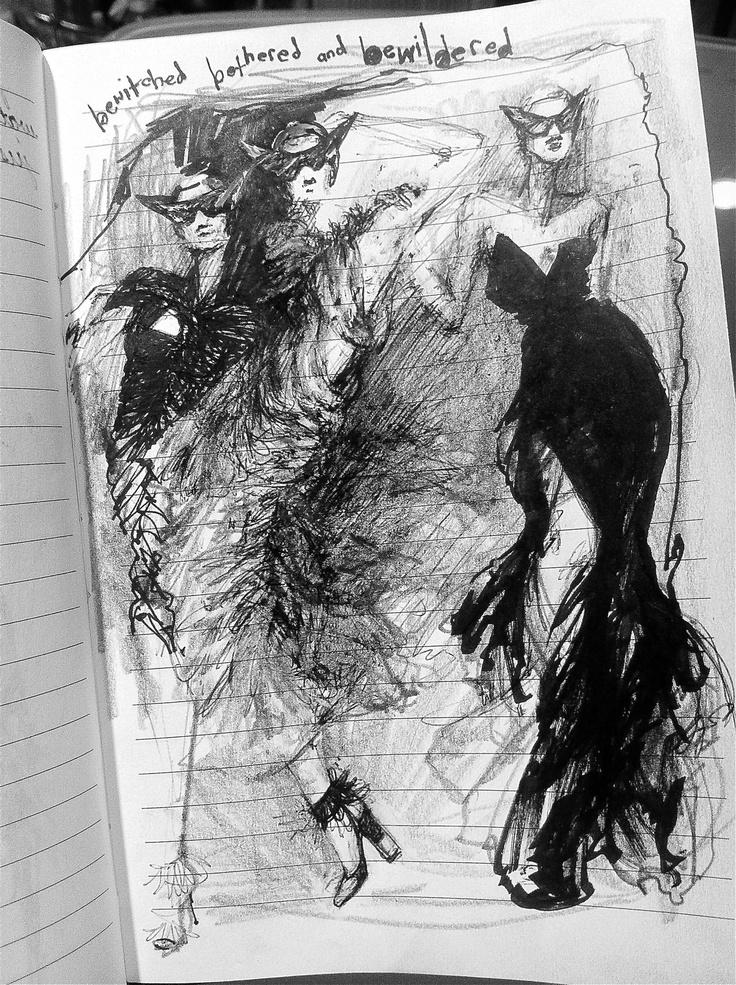 Myrtle Quillamor, Page 55. More doodles.