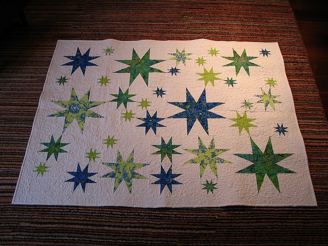 """love all the different sizes of stars 3,6,9 +/or 12"""" blocks.........."""