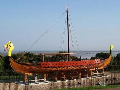 Viking Longboat Hugin