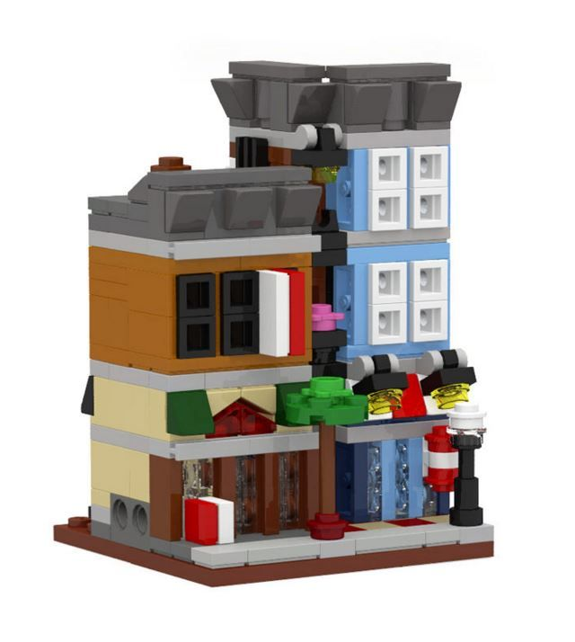 how to build a mini lego house