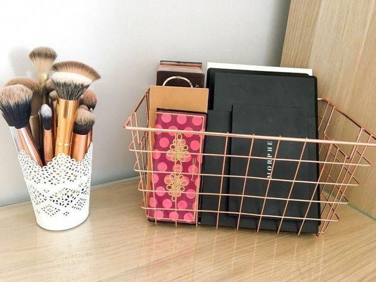 My Makeup Storage Featuring The Ikea Malm Dresser - Rangements Maquillage Ikea