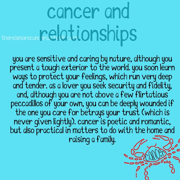 cancer and horoscope relationship