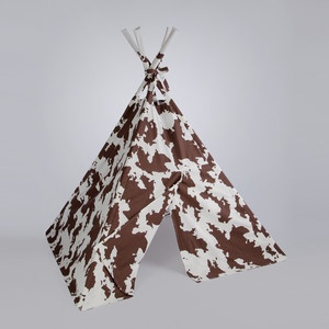 Western Style TeePee now featured on Fab.>>> not as good as our homemade one as kids, but it would be much easier to build! @Charity Peter