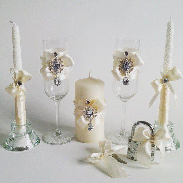 Самое стильное оформление шампанского и бокалов для вашей свадьбы - Другое во Владивостоке