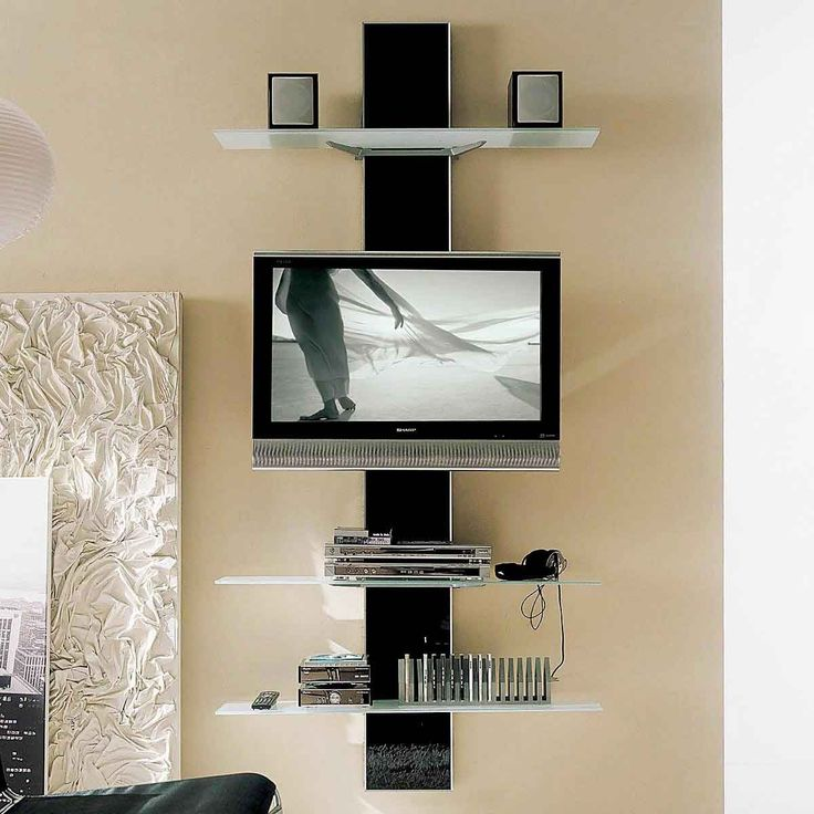 20 Most Stylish Rustic And Modern TV Stand Ideas. Wall Mounted ...