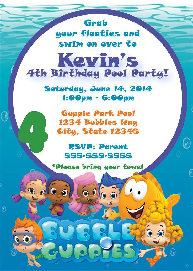7 best Summer Fun Invites images on Pinterest Invites, Summer - birthday invitation pool party