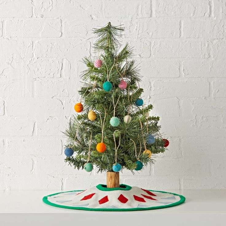 Shop Wee Christmas Tree Set.  O Wee Christmas Tree, O Wee Christmas Tree, how tiny are your branches? Actually, they're the perfect size to let your little ones help with the decorating.