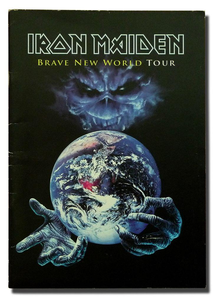 Iron Maiden - Brave New World Tour Program 2000: Unknown: Amazon.com: Books