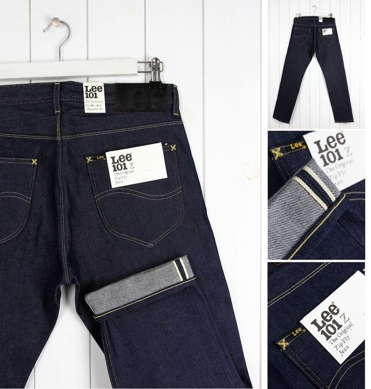 NEW  LEE 101Z  13Oz DRY DENIM  JEANS SELVAGE REGULAR STRAIGHT FIT  _ ALL SIZES