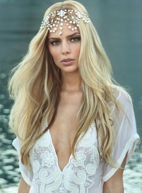 Bridal Hair Accessories Boho : Top 25 best straight wedding hair ideas on pinterest simple