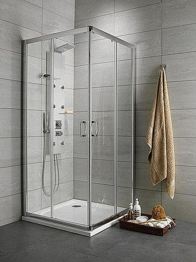 Premium Plus C Radaway kabina kwadratowa 900x900 1900 chrom przejrzyste - 30453-01-01N http://www.hansloren.pl/Kabiny-RADAWAY/245