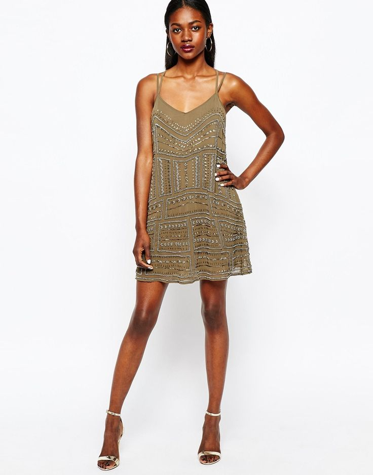 Flapper style dress river island