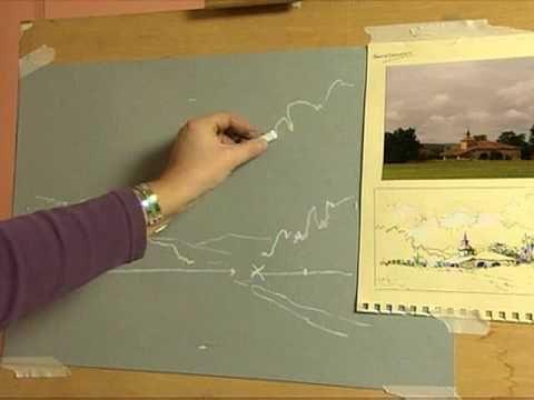 Pastel Landscape Course with Margaret Evans, Part 1.flv