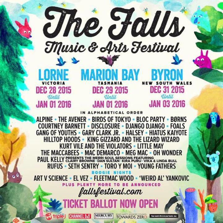 ♫ Hilltop Hoods playing Live @ Falls Festival (Byron Bay) on Dec 31! Who's coming?