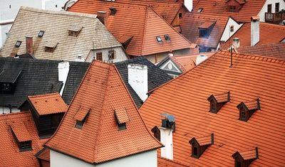 Krumlovské střechy/ Krumlov roofs