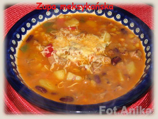 Domowa kuchnia Aniki: Zupa meksykańska