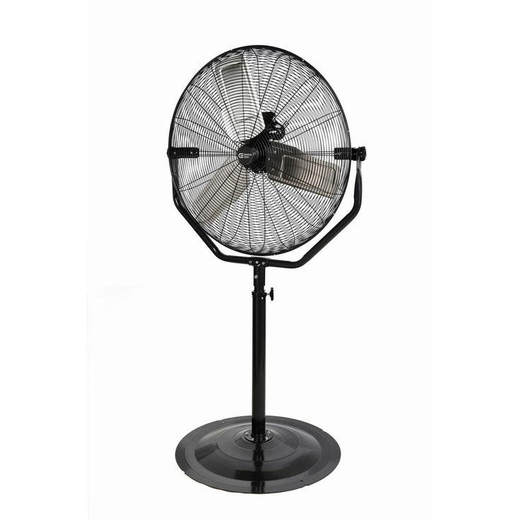 Commercial Electric Adjustable-Height 30 in. Easy-Assembly Pedestal Fan-SFSC1-750S - The Home Depot