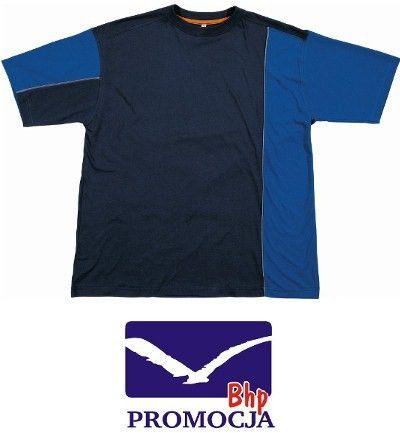T-shirt bawełniany Panoply MSTST niebieski rXL