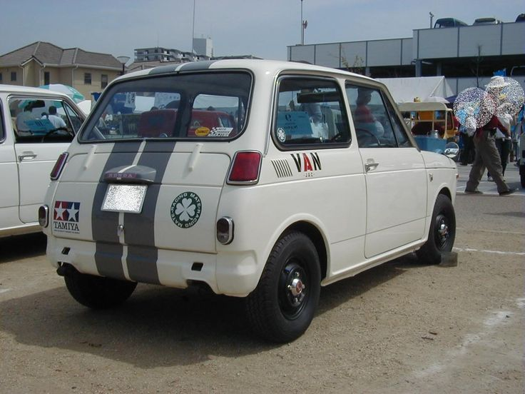 Honda N360 rear
