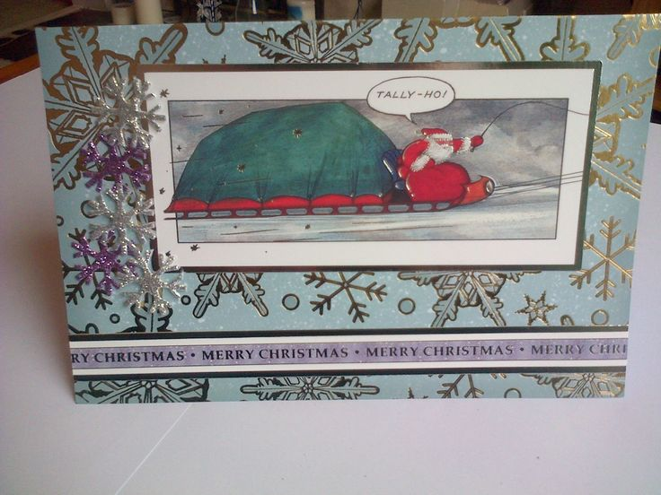 crafters companion father christmas
