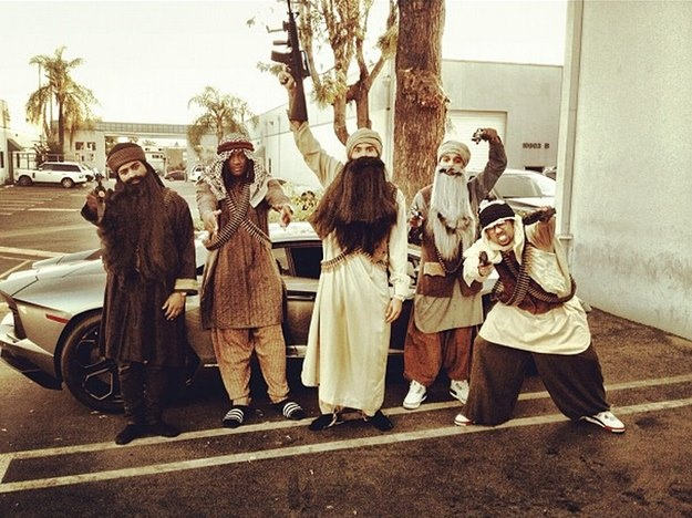 Chris Brown's Halloween costume... what do you think???