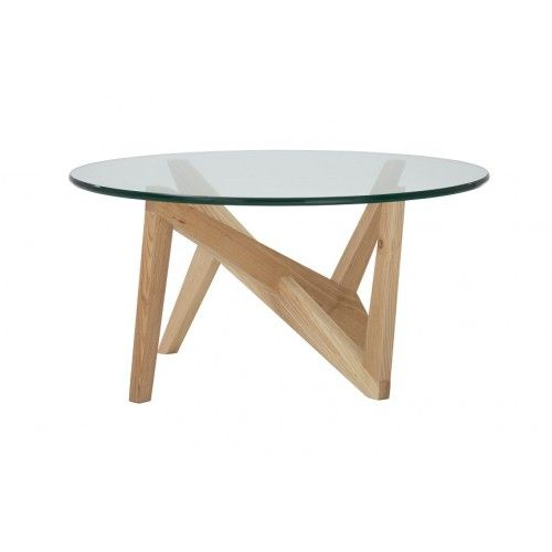 Replica Matthew Hilton Cross Round Coffee Table