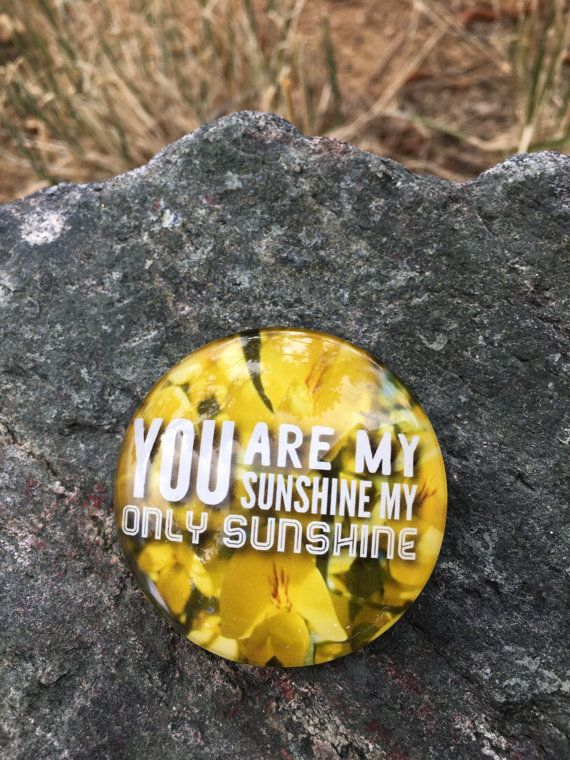 You are my sunshine my only sunshine large yellow quote magnet, lyrics, Kühlschrank, Цветы, magnete, aimant,magneet,imán,maighnéad,магнит