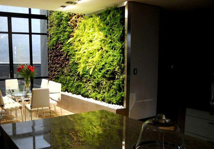 25 best ideas about jardin vertical artificial en for Jardines en paredes
