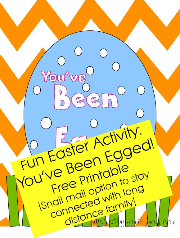 17 best flat stanley images on pinterest flat stanley classroom youve been egged free printable activity plus a snail mail option for fandeluxe Gallery