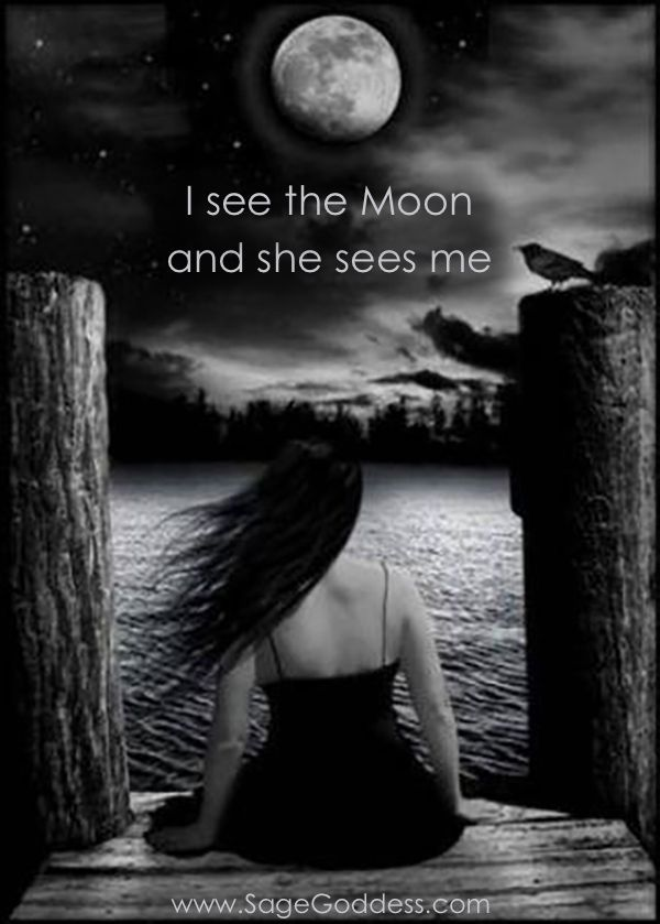 see the moon and the moon sees me <3 #moon #lunarmagic #luna